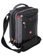 сумка-планшет , черный/серый, 22х9х29 см / Wenger
