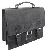 """портфель """"ARIZONA"""", черный, кожа, 38x14x33 см / Wenger"""