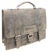 """портфель """"STONEHIDE"""", коричневый, кожа, 38x14x33 см / Wenger"""