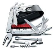 Мультитул Victorinox 3.0339.L SwissTool X Plus Ratchet | 115 мм | 40 функций