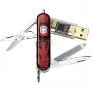 Нож-брелок Victorinox SwissMemory 4.6026.T
