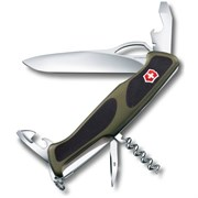 Нож Victorinox RangerGrip 61 0.9553.MC4, зеленый