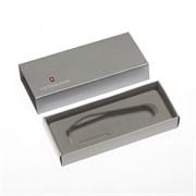 Коробка для ножей VICTORINOX 91 мм толщиной до 2 уровней, картонная, серебристая