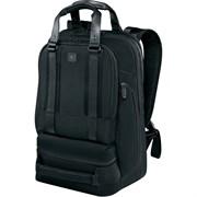 Рюкзак VICTORINOX Lexicon Professional Bellevue 15,6'', чёрный, нейлон/кожа, 30x19x46 см, 26 л