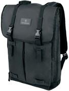 Рюкзак VICTORINOX Altmont 3.0 Flapover Backpack 15,6'', чёрный, нейлон Versatek™, 30x10x43 см, 13 л
