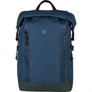 Рюкзак VICTORINOX Altmont Classic Rolltop Laptop 15'', синий, полиэфирная ткань, 29x15x44 см, 20 л