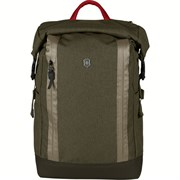 Рюкзак VICTORINOX Altmont Classic Rolltop Laptop 15'', зелёный, полиэфирная ткань, 29x15x44 см, 20 л