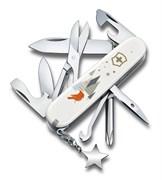 Нож перочинный VICTORINOX Super Tinker Winter Magic SE 2019, 91 мм, 15 функций, красный